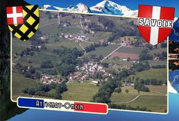 Postcard, Communes Of France, Attignat-Oncin, Savoie - Cartes Géographiques