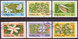 TOKELAU 1987 SG 142-47 Compl.set Used Flora - Tokelau