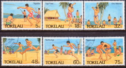 TOKELAU 1987 SG 148-53 Compl.set Used Olympic Sports - Tokelau