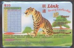PREPAIDKARTE - Sternzeichen - Tiger -leer - Zodiac