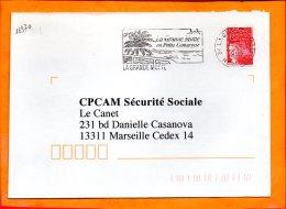 HERAULT, La Grande Motte, Flamme SCOTEM N° 16970, En Petite Camargue - Marcophilie (Lettres)