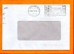 HERAULT, La Grande Motte, Flamme SCOTEM N° 17943, En Petite Camargue, Port Payé, Mégras à Droite - Postmark Collection (Covers)