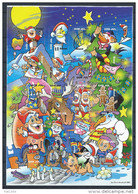 Feuille De Vignettes De Noël Des Iles Aland 2003 Neuve - Aland