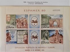 """ESPAMER'80"" - NEUF ** - YT BL 27 - MI BL 21 - 1931-Aujourd'hui: II. République - ....Juan Carlos I"