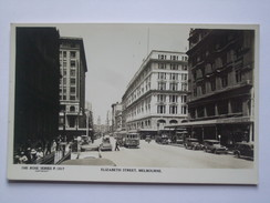 AUSTRALIA - Melbourne - Elizabeth Street RP - Rose Series P.1517 - Melbourne