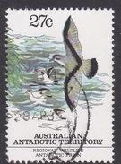 Australian Antarctic Territory  S 59 1983 Regional Wildlife 27c Prion Used - Australian Antarctic Territory (AAT)
