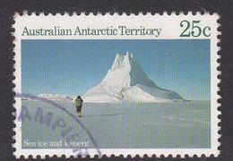 Australian Antarctic Territory  S 64 1984 Antarctic Scenes 1 25c Ice Used