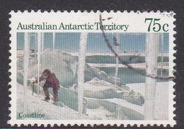 Australian Antarctic Territory  S 66 1984 Antarctic Scenes I 75c Coastline Used