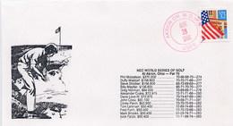 USA -  AKRON OH - NEC WORLD SERIES OF  GOLF - Golf