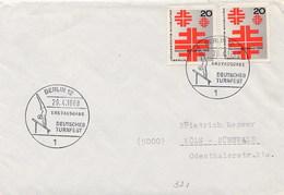 GERMANY - BERLIN 1968 - TURN - GINNASTICA