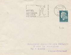 FRANCE - VITTEL 1969 - CAMPIONATI GINNASTICA FEMMINILE