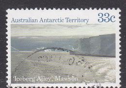 Australian Antarctic Territory  S 69 1985 Antarctic Scenes II  33c Icebergs Used