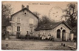 Recologne Les Rioz : Le Lavoir Animé Du Hameau D'Eguilley (Cliché Folltot, Maizières) ATTENTION : Légende Erronée. - Autres Communes