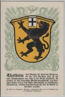Thalheim Zürich - Gemeindewappen No.105 - ZH Zurich