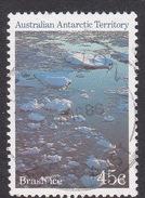 Australian Antarctic Territory  S 70 1985 Antarctic Scenes II  45c Ice Used