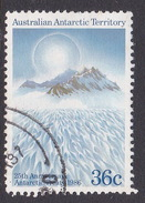 Australian Antarctic Territory  S 73 1986 25th Anniversary Of The Antarctic Treaty 36c Mountains Used