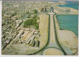 BAHREIN ( BAHRAIN ) : MANAMA - AERIAL VIEW - CPSM GRAND FORMAT - * 2 SCANS * - - Bahreïn