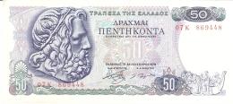 GRECE   50 Drachmai   8/12/1978   P. 199a   AUNC - Grèce