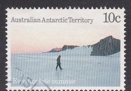Australian Antarctic Territory  S 75 1987 Antarctic Scenes III 10c Evening Used