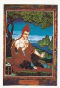 China - Portrait Of Gunaprabha, Silk Thangka At Tiefo Temple, Mount Lushan, Jiangxi Province - Tibet