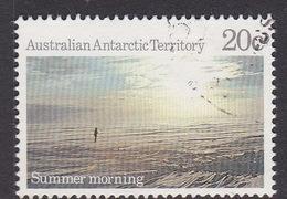 Australian Antarctic Territory  S 76 1987 Antarctic Scenes III 20c Morning Used
