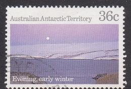 Australian Antarctic Territory  S 77 1987 Antarctic Scenes III 36c Evening Used