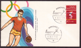 KN55       Germany 1972 München Handball Olympic Games - Pallamano