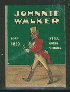 Erinnophilie, Vignette Johnnie Walker - Erinnophilie