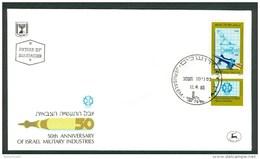 Israel FDC - 1983, Philex Nr. 926, Mint Condition - FDC