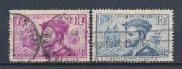 Frankrijk/France/Frankreich 1934 Mi: 292-293 Yt: 296-297 (Gebr/used/obl/o)(1822) - Frankrijk