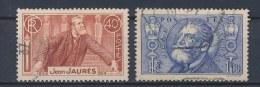 Frankrijk/France/Frankreich 1936 Mi: 324-325 Yt: 318-319 (Gebr/used/obl/o)(1823) - Frankrijk