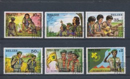 Belize 1982 Mi: 646-651 Yt:  (Gebr/used/obl/o)(1829) - Belize (1973-...)