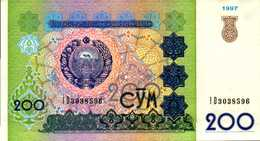 OUZBEKISTAN 200 SUM De 1997 Pick 80  UNC/NEUF - Uzbekistan