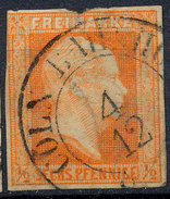 Stamp German States Prussia 1850 6pf Used Lot#2 - Prusse