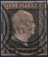 Stamp German States Prussia 1850 1sg Used Lot#4 - Prusse