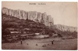Beaume : Les Roches - Environs De Pouilly En Auxois (Phototypie Desaix, Paris) - Autres Communes