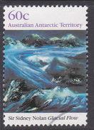 Australian Antarctic Territory  S 86 1989 Antarctic Landscapes 60c Glacial Flow Used