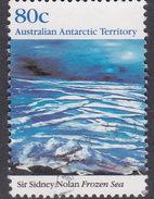 Australian Antarctic Territory  S 87 1989 Antarctic Landscapes 80c Frozen Sea Used - Territoire Antarctique Australien (AAT)