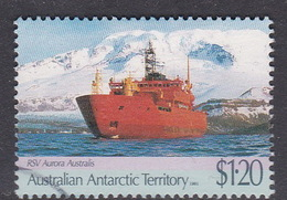 Australian Antarctic Territory  S 89 1991 Antarctic Treaty $ 1.20 RSV Aurora Used