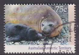 Australian Antarctic Territory  S 91 1992 Antarctic Wildlife Serie I 75c Elephant Seal Used