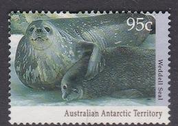 Australian Antarctic Territory  S 93 1992 Antarctic Wildlife Serie I 95c Weddel Seal Used