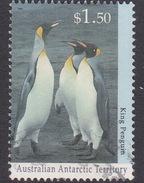 Australian Antarctic Territory  S 97 1994 Antarctic Wildlife Serie II $ 1.50 King Penguin Used
