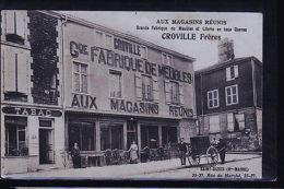 SAINT DIZIER FABRIQUE DE MEUBLES CROVILLE    B - Saint Dizier
