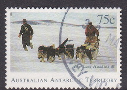 Australian Antarctic Territory  S 99 1994 The Last Huskies 75c Dog Team Used