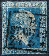 Stamp German States Prussia 1857 2sg Used Lot#49 - Preussen