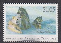 Australian Antarctic Territory  S 101 1994 The Last Huskies $ 1.05 Husky Used - Territoire Antarctique Australien (AAT)