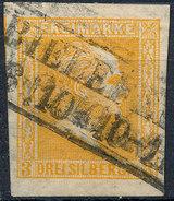 Stamp German States Prussia 1858 3sg Used Lot#54 - Preussen