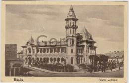 Romania - Buzau - Palatul Comunal - Romania