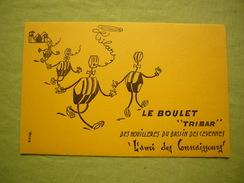 "Joli Buvard Le Boulet ""Tribar"" Houillères Du Bassin Des Cévennes - Gas, Garage, Oil"