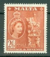 Malta: 1956/58   QE II - Pictorial    SG279   2/6d      MH - Malta (...-1964)